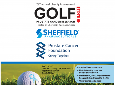 Golf Fore! Prostate Charity Golf Tournament 2017